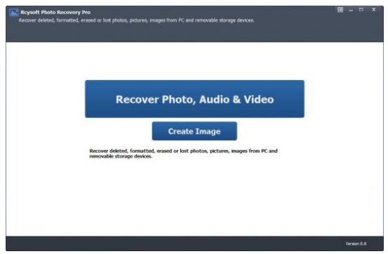 Rcysoft Photo Recovery Pro